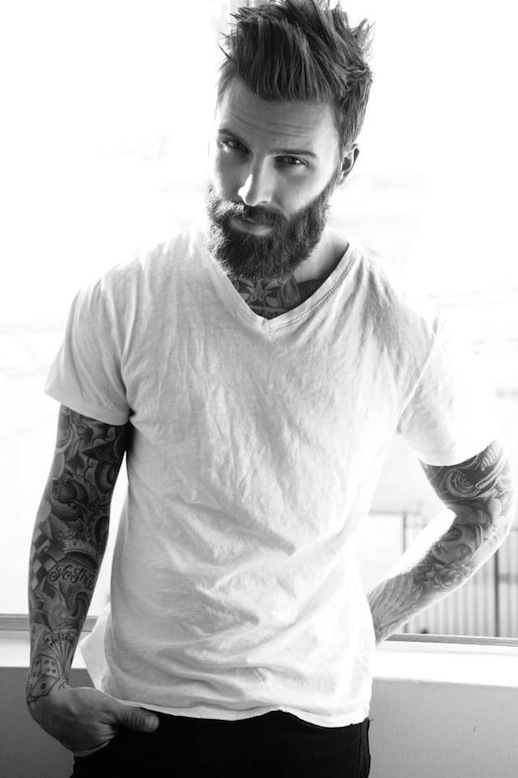 Male Models With Tattoos