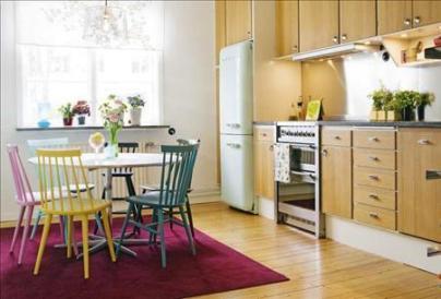 Resultado de imagen para decoracion de la cocina color