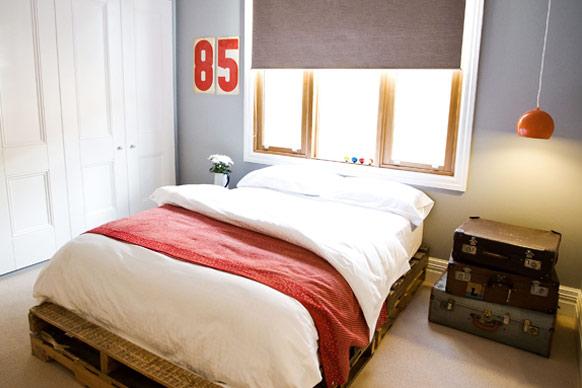 เตียงไม้พาเลท1